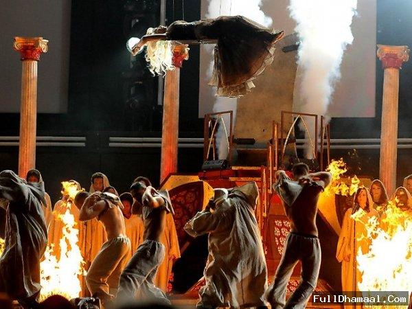 Nicki Minaj Performing On Stage At 54th Grammy Awards