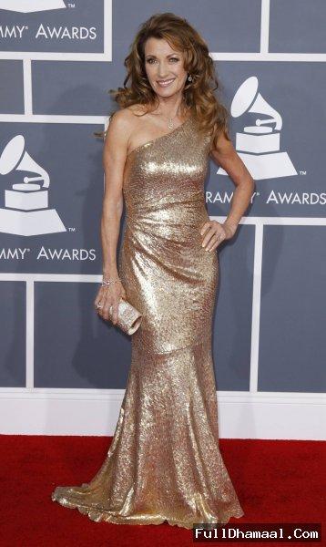 Actress Jane Seymour At 54th Grammy Awards