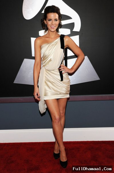 Actress Kate Beckinsale At 54th Grammy Awards