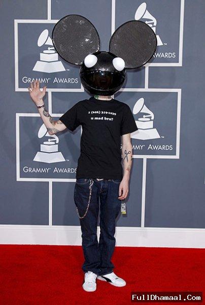 Canadian DJ deadmau5 At 54th Grammy Awards