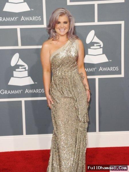 Singer Actor & Fashion designer Kelly Osbourne At Grammy Awards Los Angeles