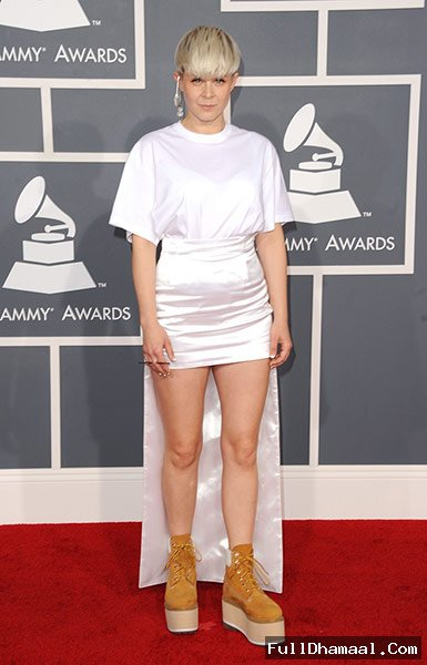 Swedish Singer And Recording Artist Robyn At 54th Red Carpet Los Angeles
