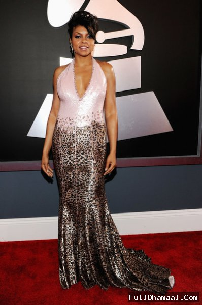 Taraji P. Henson At The 54th Annual Grammy Awards. Feb 12, 2012
