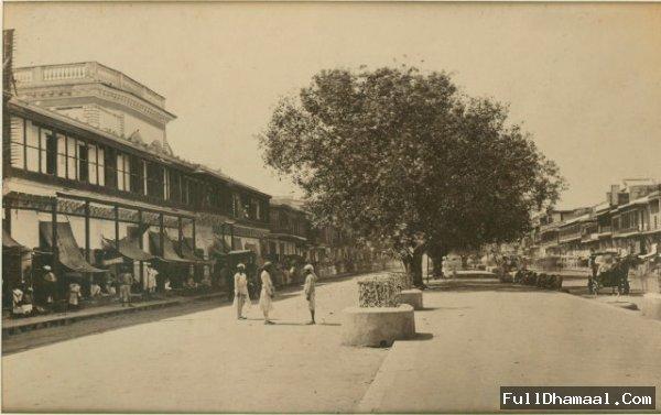 Chandani Chowk's Main Street View In Year 1865.