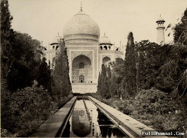 A Rare Picture Of Famous Love Symbol Taj Mahal Taken In 1870's