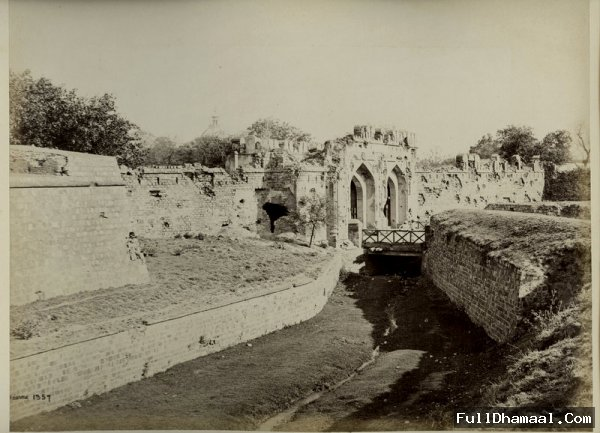 Delhi's Kashmiri Gate, The Now ISBT Looked Like This In 1860's