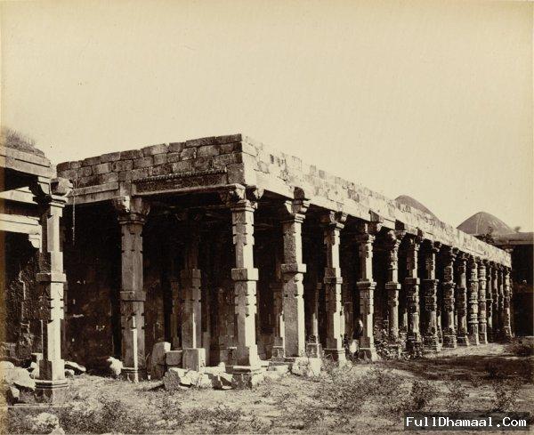 Qutb Minar compound - Delhi 1875