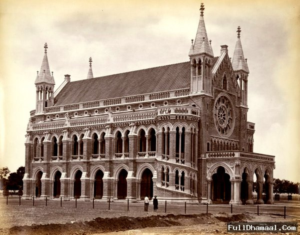 The University Hall Of Bombay- From 1870s