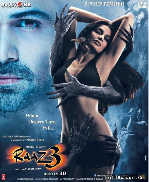 Raaz 3 Review, Starring Bipasha Basu, Emraan Hashmi, Esha Gupta, Jacqueline Fernandez, Manish Chaudhary, Mohan Kapoor