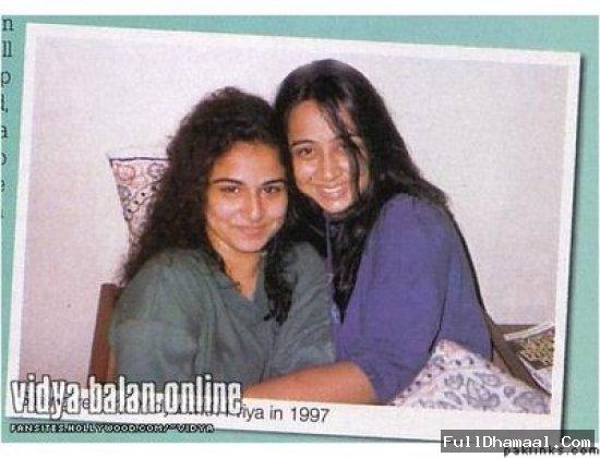 Vidya Balan without makeup....